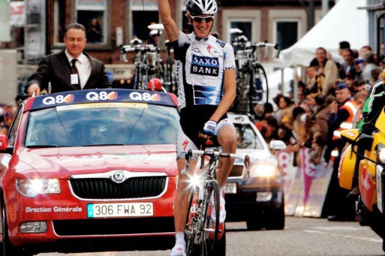 Andy Schleck wins LBL 2009 © Photosport international.jpg