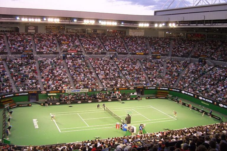 Australian Open Tennis (picture pfctdayelise, Wikimedia Commons).JPG