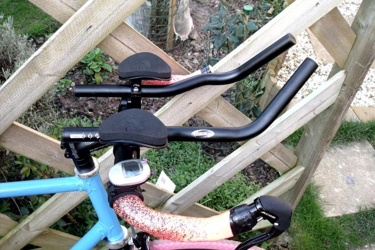 Holdsworth with BBB Aerobars