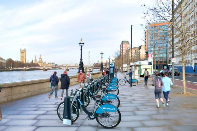 Barclays Cycle Hire Scheme Albert Embankment impression.jpg