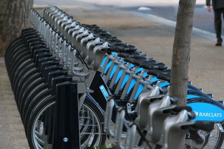 Barclays Cycle Hire bikes