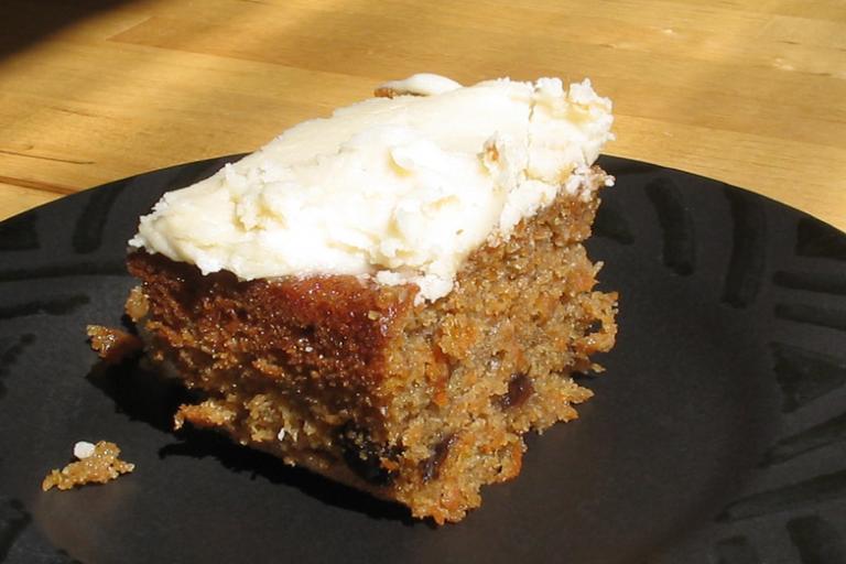 Carrot cake (Photo: David Benbennick)