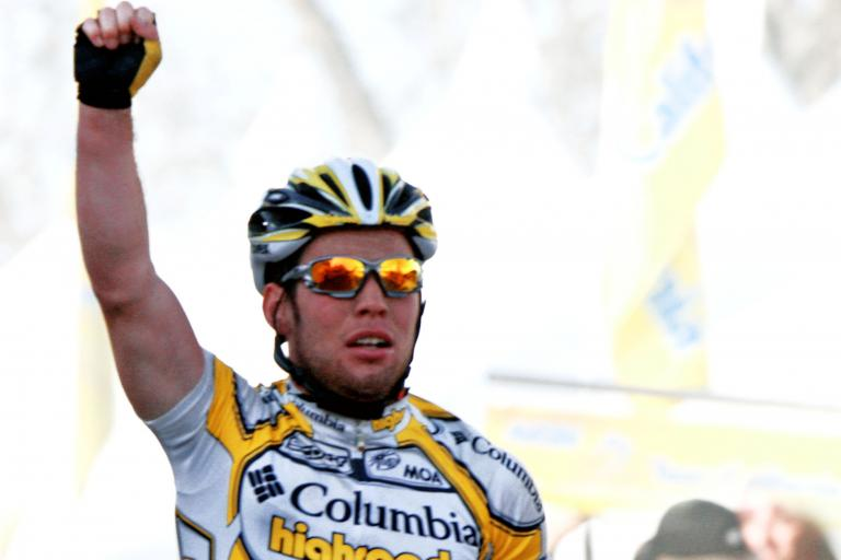 Mark Cavendish wins - pic courtesy Photosport International
