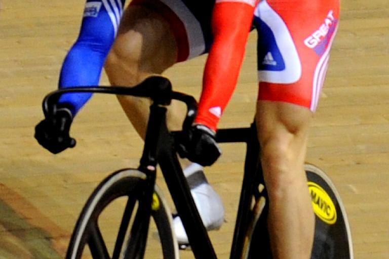 Chris Hoy, World Track Championships 2008 (© johnthescone)