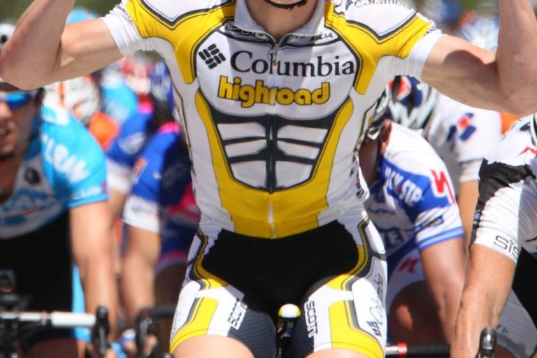 Columbia Highroad:this year's jersey, courtesty Photosport International