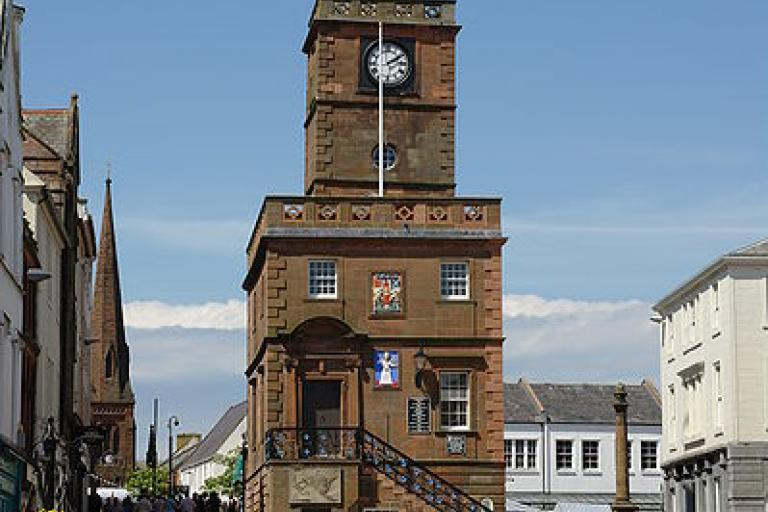 Dumfries (picture credit MSDMSD:Wikimedia Commons).JPG