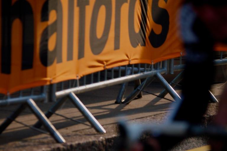 Halfords barrier logo (copyright Simon MacMichael).jpg