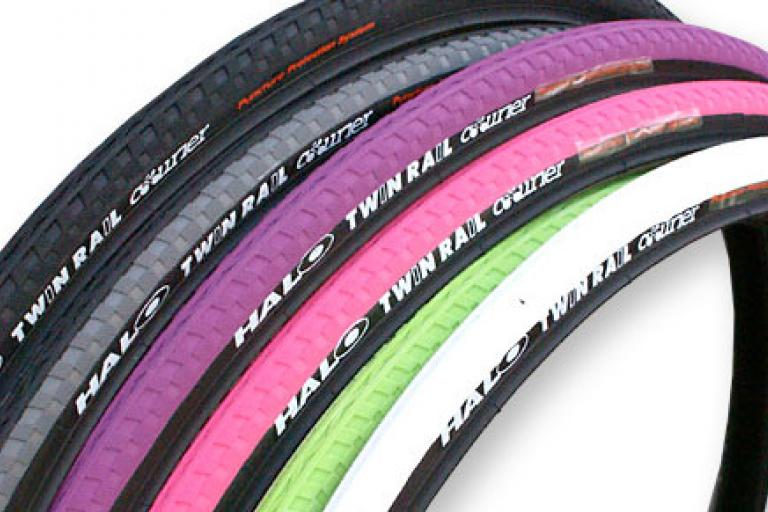 Halo Twin Rail Courier tyre