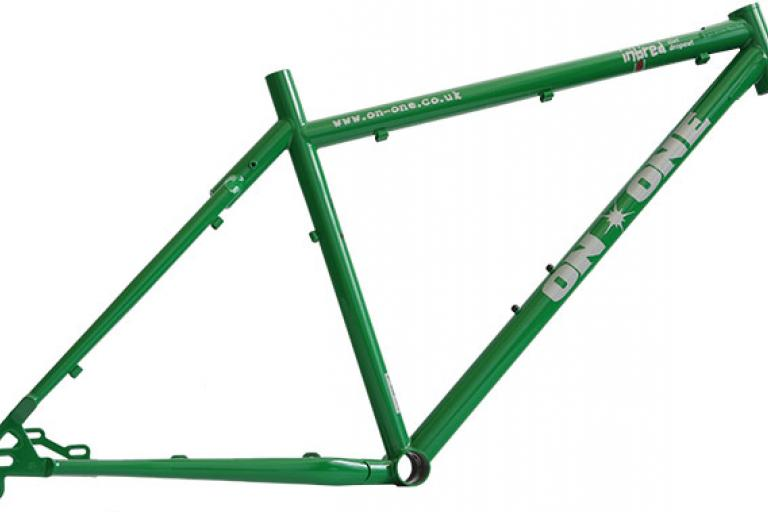 The Green Meanie On-On Inbred Frame With Sliding Drop Out