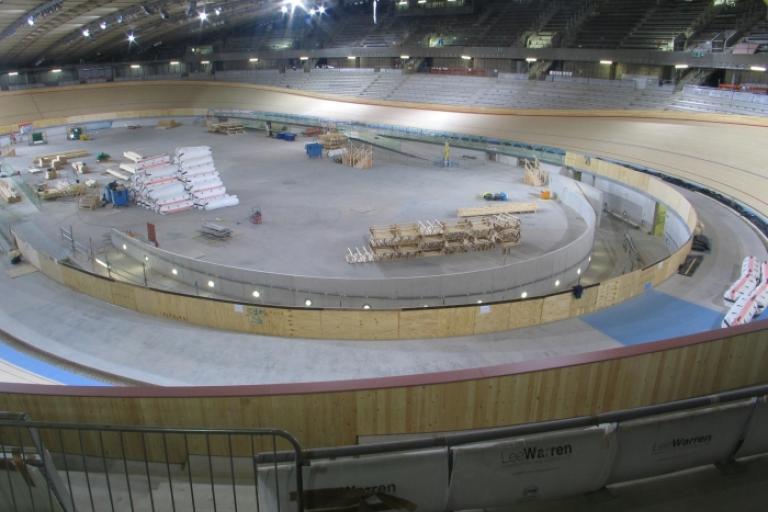 London 2012 Velodrome track.jpg