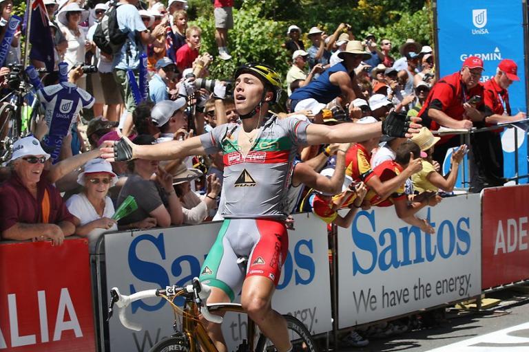 Manuel Cardoso wins Stage 3 of Tour Down Under (Photo credit Santos Tour Down Under : John Veage) .jpg