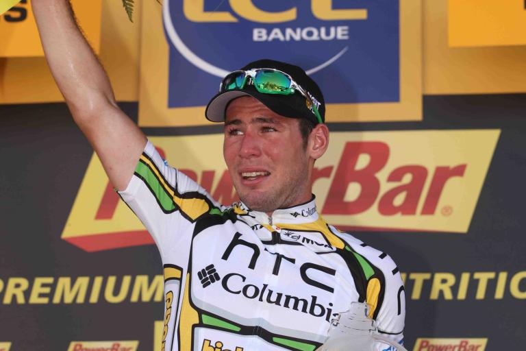 Mark Cavendish on Tour de France Podium 2010 © PhotoSport International.jpg