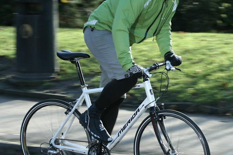 Merida Speeder T3 - riding