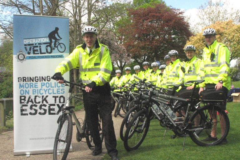 Essex Police:  Deputy Chief Constable Andy Bliss with Operation Velo 2010