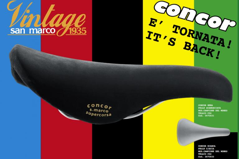 Selle San Marco Concor press