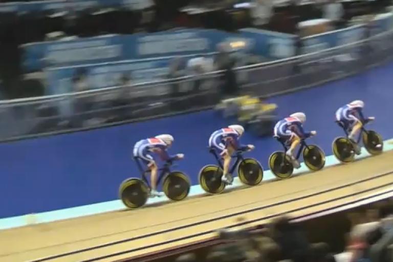 Manchester Team pursuit