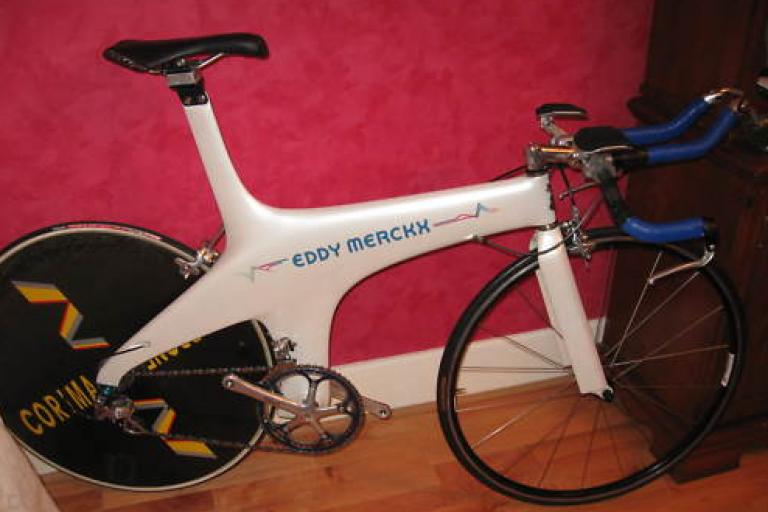 Chris Boardman TT Lotus bike
