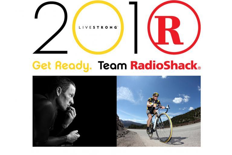 Team RadioShack homepage