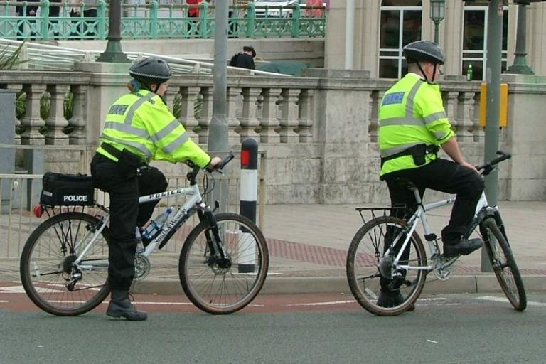 Police cycling patrol, pic Les Chatfield.jpg