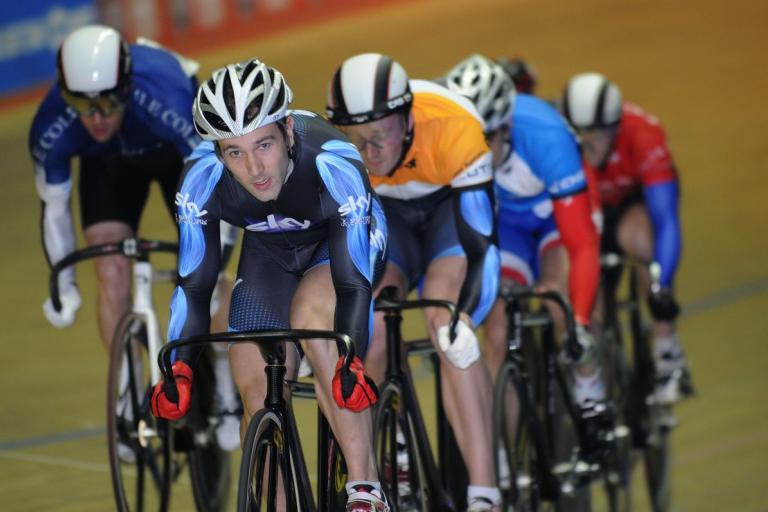 Ross Edgar at Revolution (British Cycling)
