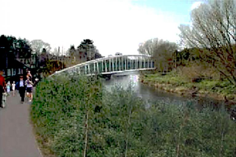 Impression of how a stretch of the river could look when the project is complete