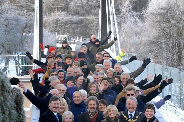 Riversdale Bridge Opening (copyright - Sustrans).jpg