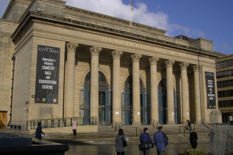 Sheffield City Hall (©Warofdreams from Wiki Commons)