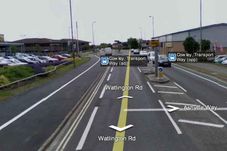 Speed Camera in Cowley Oxford (image source Google Maps).png
