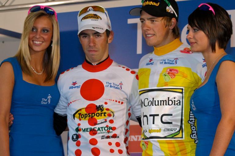 Tour of Britain 2009 Podium © Simon MacMichael.jpg