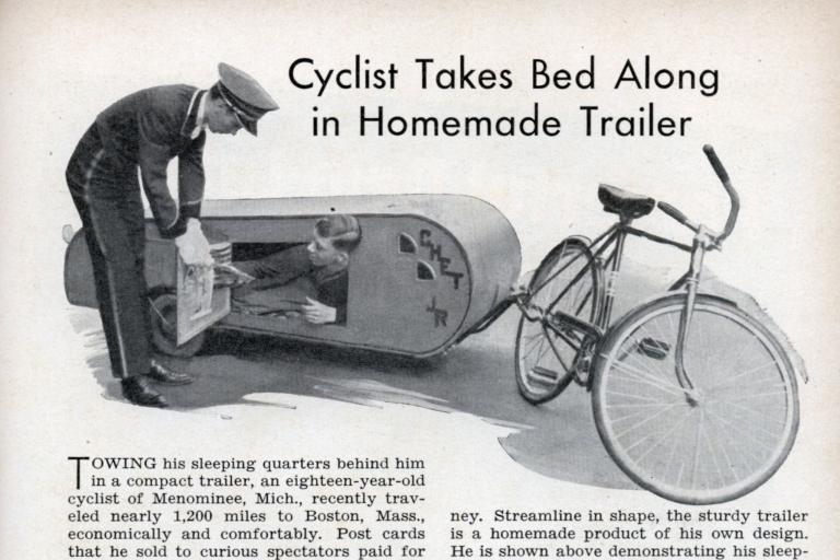 sleeping trailer