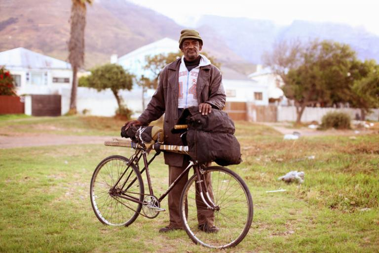 Bicycle Portraits - Mickey Abrahams