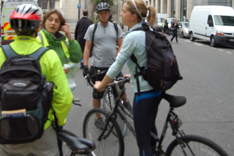 London Biketube Finsbury Park ride