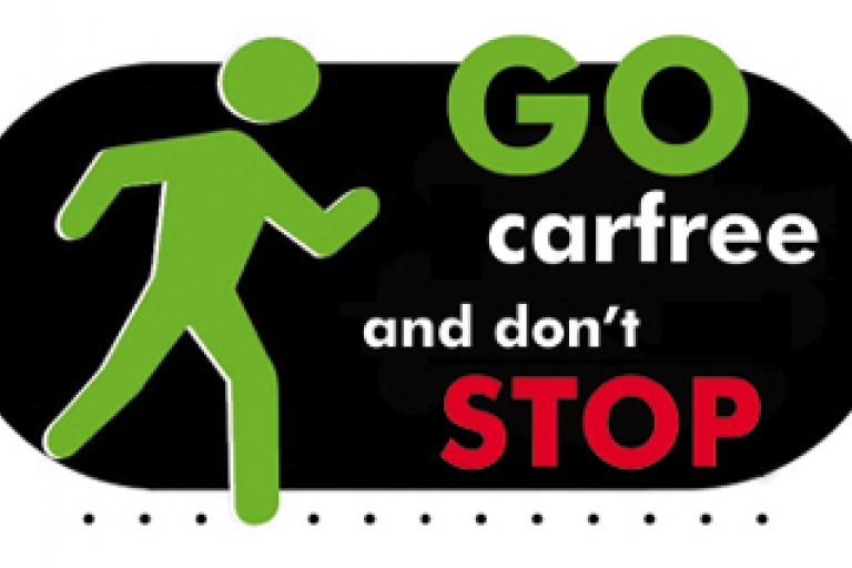 Carfree day logo