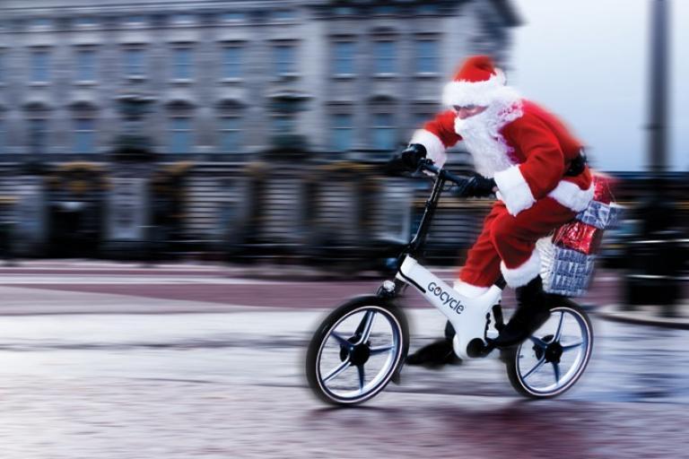 GoCycle Santa