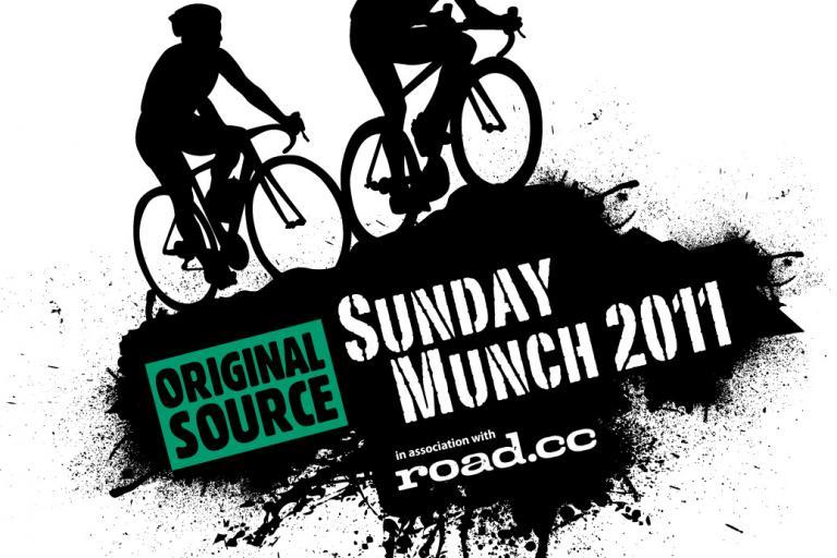 Mountain Mayhem Sunday Munch sportive with roadcc logo
