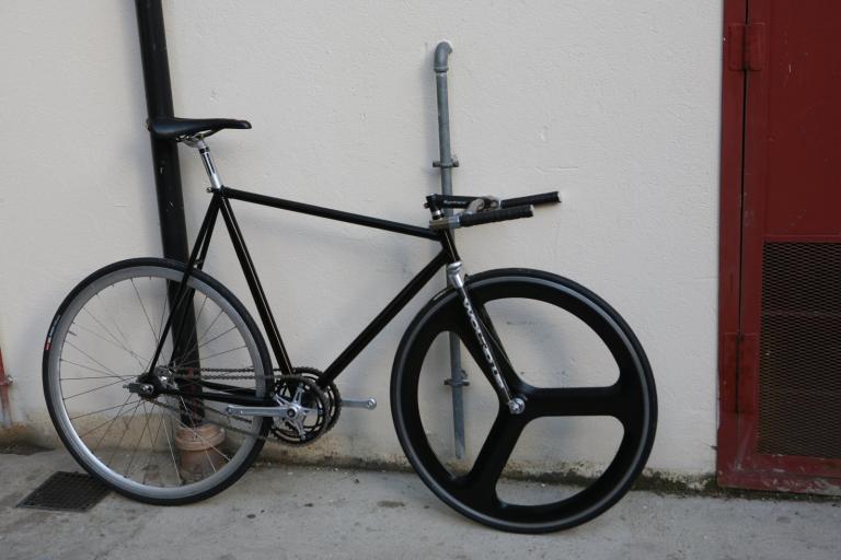 Twin chain TT bike