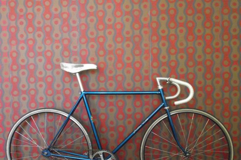 Matthew Meadows hand-printed wallpaper 'Bicycle Chain'