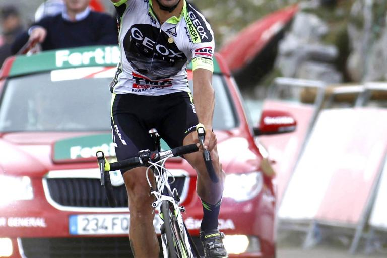 Cobo wins Vuelta 2011 Stage 15 (copyright: Tour of Spain/Graham Watson).jpg