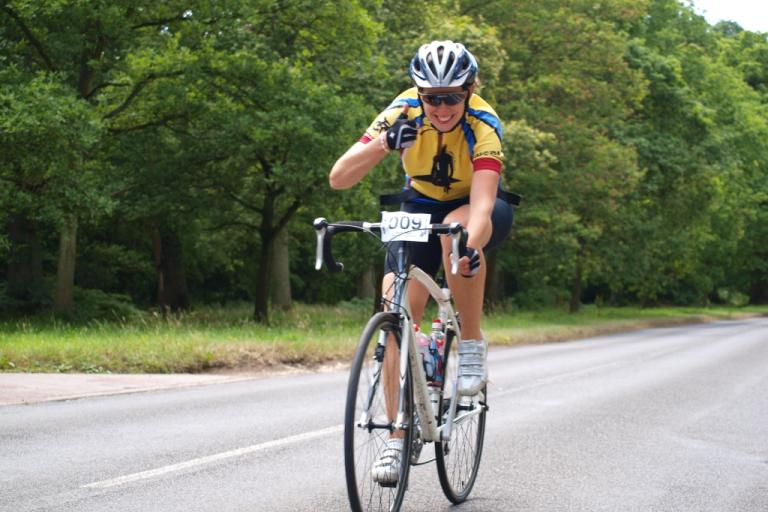 Anthony Maynard Sportive 2010 - Thumbs up and all smiles from Rosie Vosser