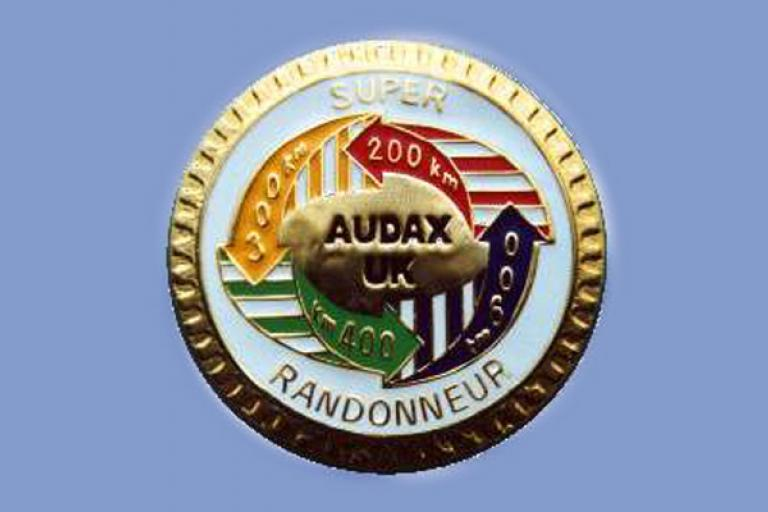 SR Badge (from Audax UK website)