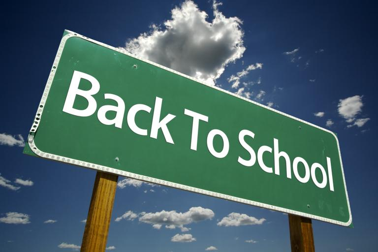 back-to-school-road-sign