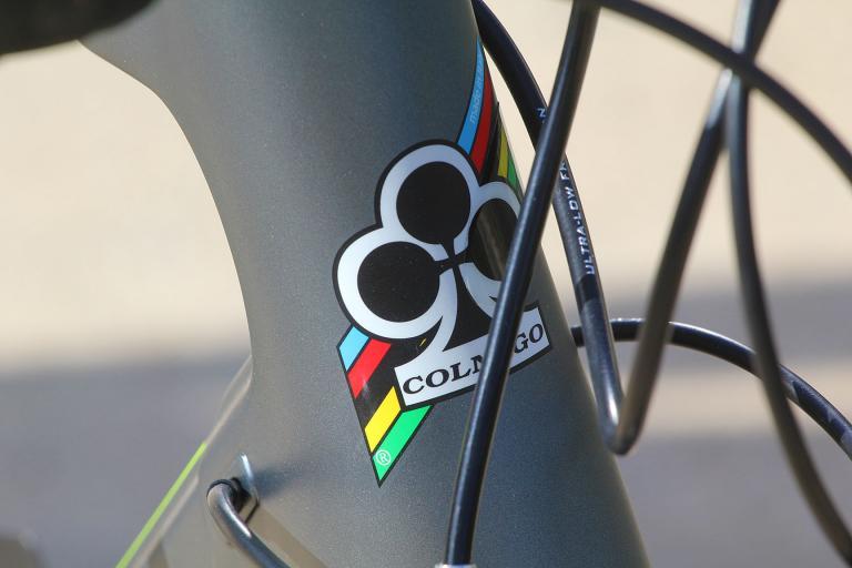 Colnago C60 - head badge
