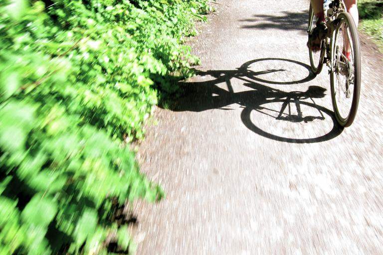 Dorset Gravel Dash 2014 - Bike Lane Shadow
