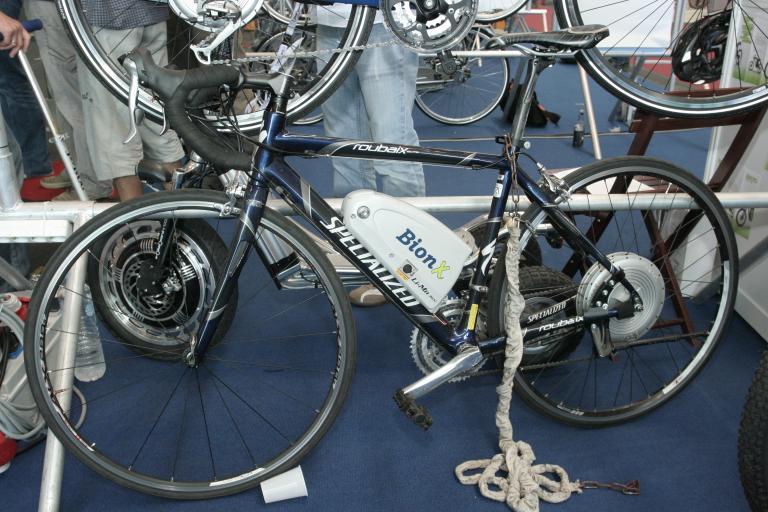 Bionx system on specialized Roubaix