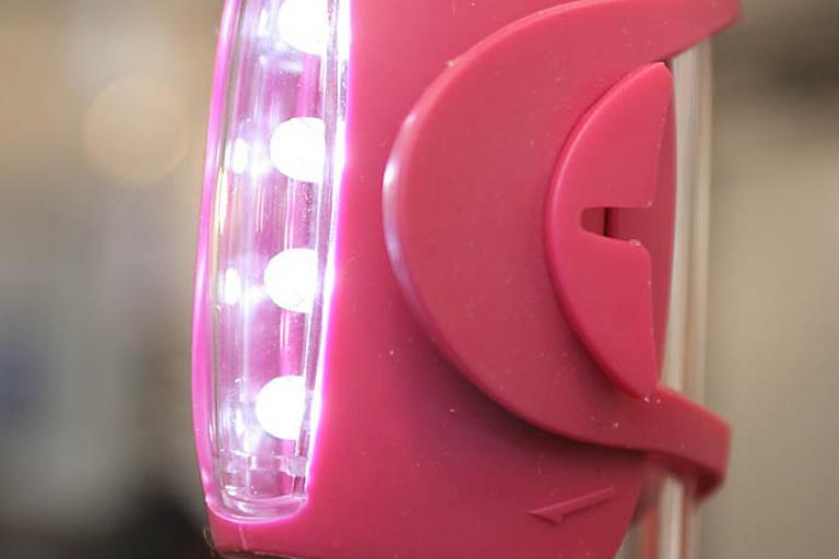 Knog Skink lights - front