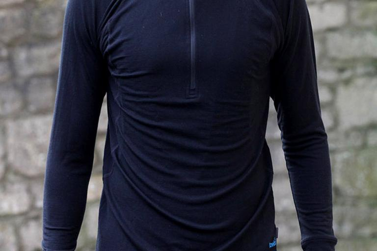 Howies NBL Half Zip Merino base layer