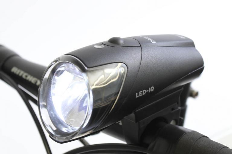 Ixon IQ rechargable front light - mounted