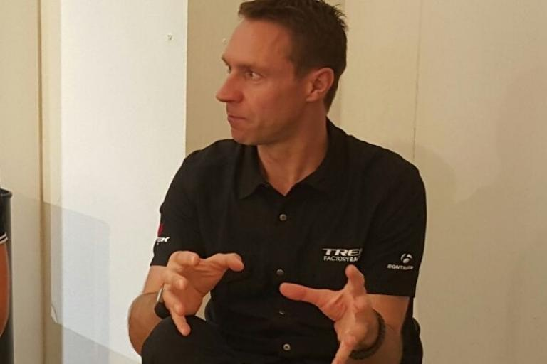 Jens Voigt speaking to roadcc