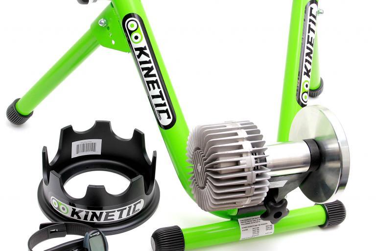 Kurt Kinetic Road Machine turbo trainer with accessories
