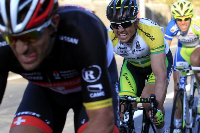 Cancellara does the work, Milan-San Remo 2012 (© Daniele Badolato, LaPresse via RCS Sport)